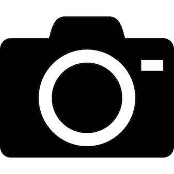 Camera with lens outline