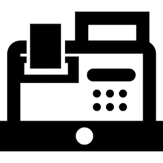 Old Cash Register Vector
