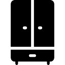 Wardrobe icons free download for Closet icon