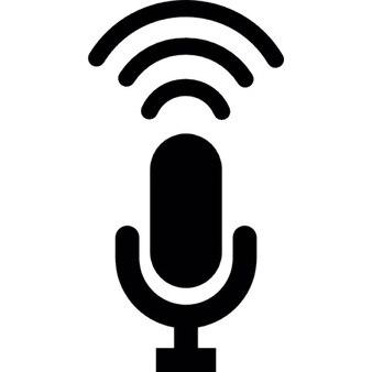 Condenser microphone recording