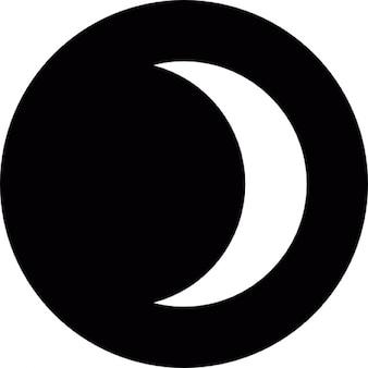 Crescent eclipse night