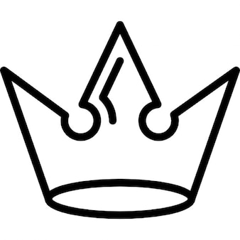 Crown of royal design