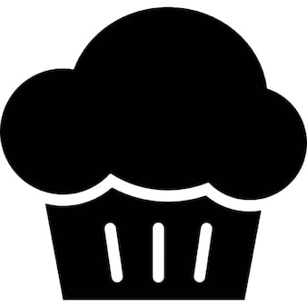カップケーキのデザート
