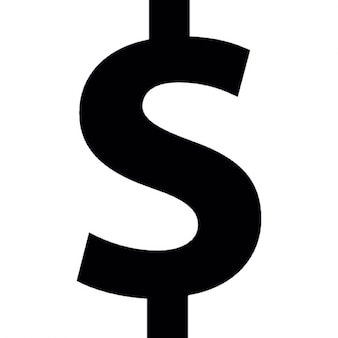 Dollars symbol for money