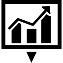 Download business statistics symbol of a graphic