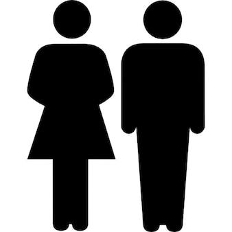 Family of heterosexual couple