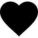 Favorite heart button