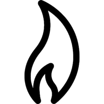 Fire outline Icons | Free Download