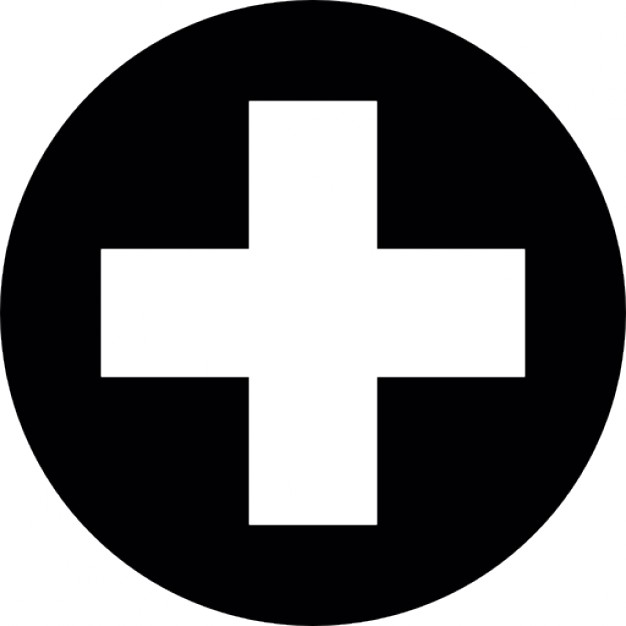 First aid cross symbol