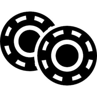 Gambling chips variant
