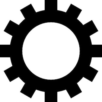 Gear wheel with cogs