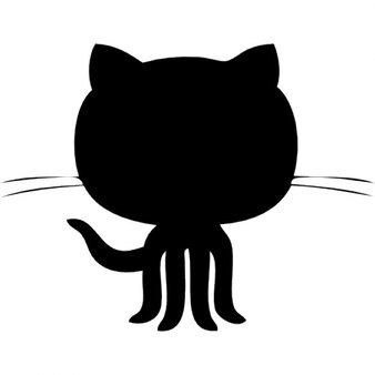 github cat in a circle icons free download
