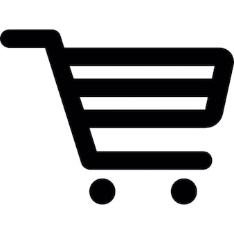Grocery trolley outline