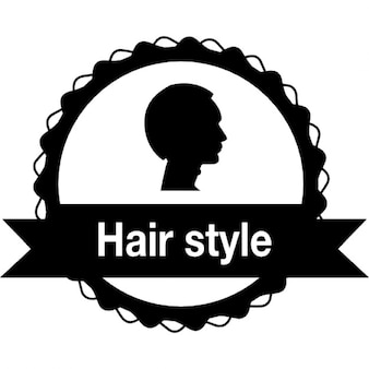 Hair salon badge