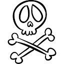 Череп Пирата стоковые векторы  Clipartme
