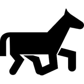 Horse of cartoons