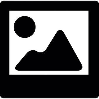Image interface tile symbol