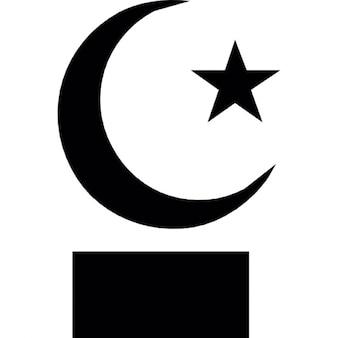 Islam star and crescent