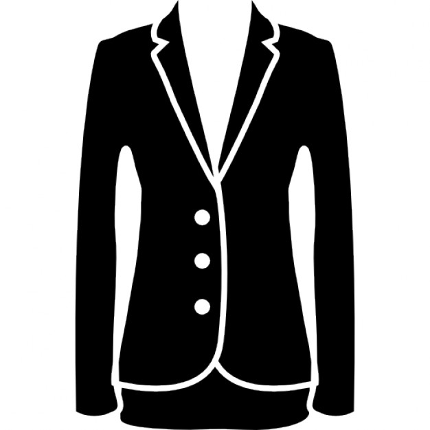 Jacket elegant feminine black clothes for business