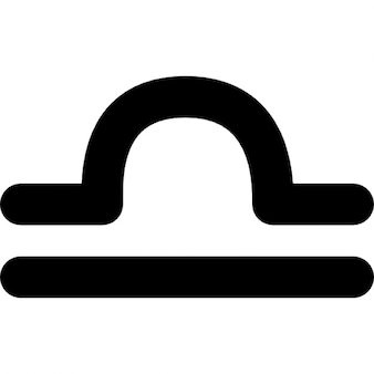 天秤座のサイン