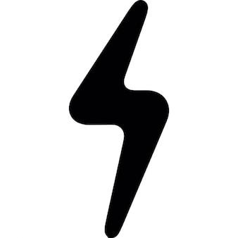 Lightning bolt shadow