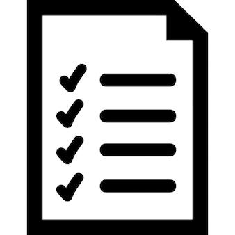 List document interface symbol