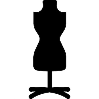 Mannequin with stand