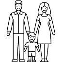 子供を持つ夫婦