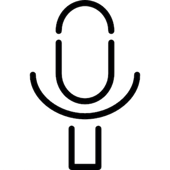 Microphone recorder outline