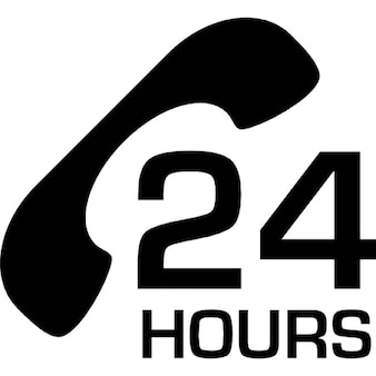 Money 24 hours service by telephone