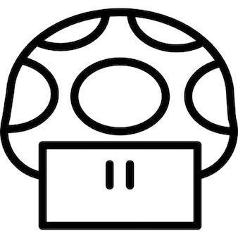 Mushroom cartoon image