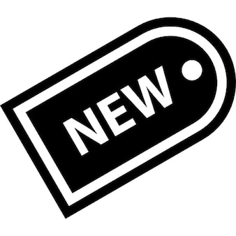 New products label