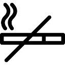 禁煙のサインはありません
