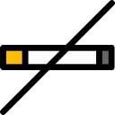 禁煙、IOS 7インターフェース·シンボル