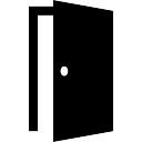 オープンしたドアの開口部