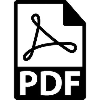 PDF file format symbol