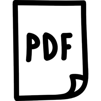 Pdf file hand drawn symbol