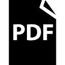 PDF file symbol