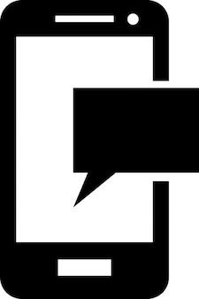 携帯電話のSMSメッセージ