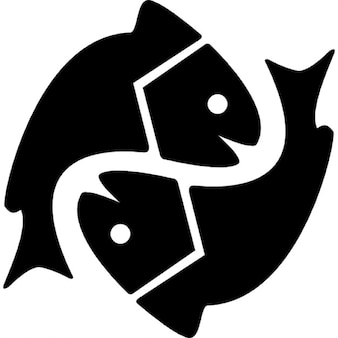 Pisces astrological sign symbol