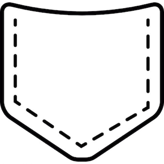 Pocket of jean