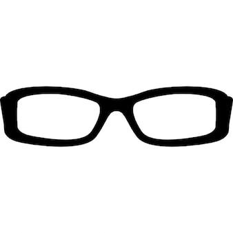 Rectangular eyeglass frame
