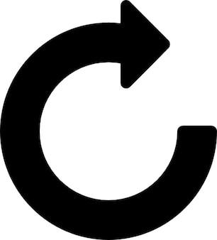 Rotate arrow signal