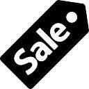 Sale commercial label