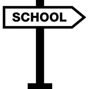 School arrow signal