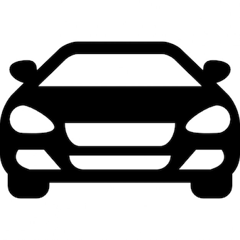 Sedan car front