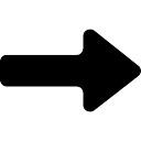 ストレート、右矢印