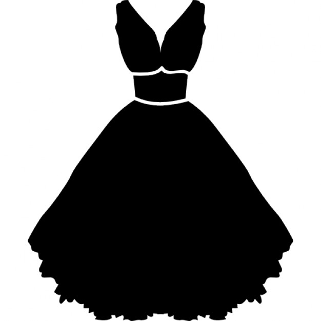 Stylish strapless dress with belt and petticoat