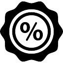 Supermarket promotions percentages label tool
