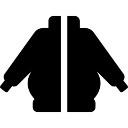 ジッパー付きセーター